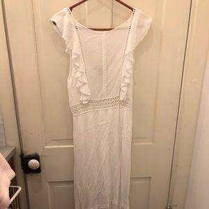 Forever21 Maxi white dress